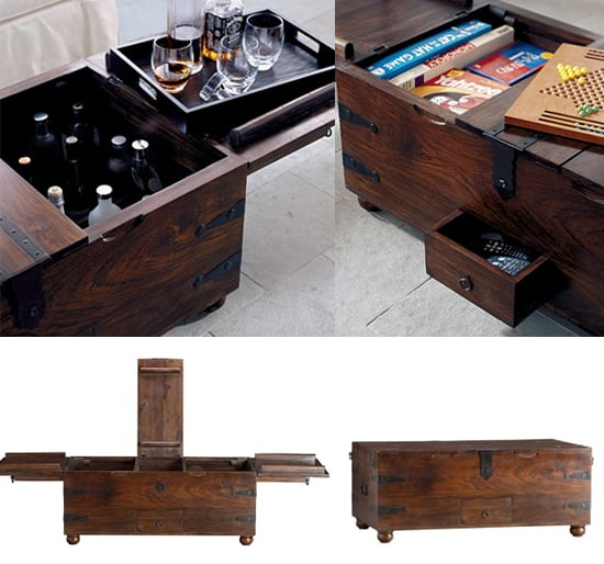 Nice and New: Crate and Barrel Taka Trunk