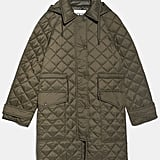 Zara Padded Jacket With Pockets