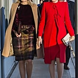 Queen Maxima and Queen Mathilde