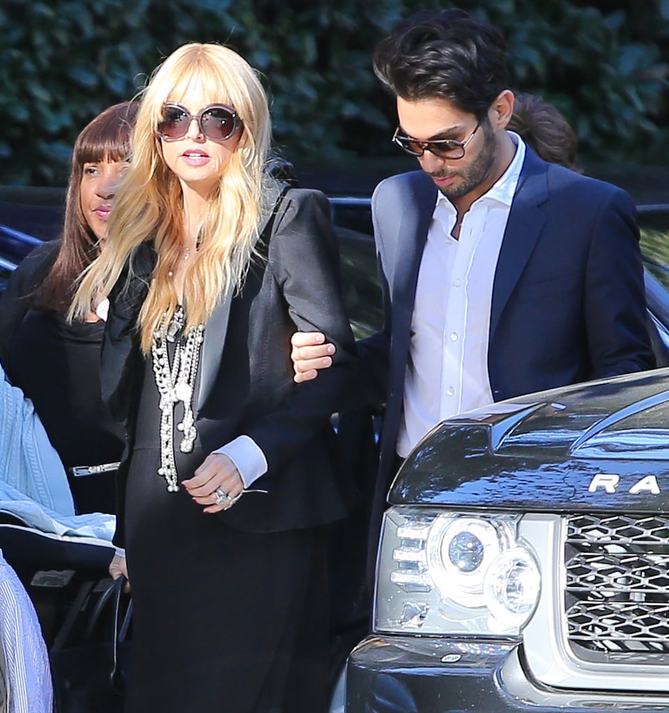 Rachel Zoe Makes First Public Appearance With Her New Son