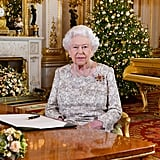 Queen Elizabeth II delivers her 2018 Christmas address.