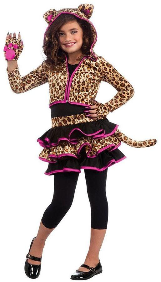 leopard hoodie costume