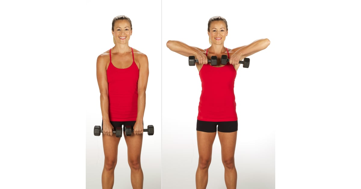 Upright Row | Sculpt and Strengthen Your Arms With This 3 ...