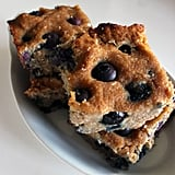 Dessert: Coconut-Blueberry Cookie Bars