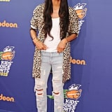 . . . And Ciara's blazer at the Kids' Choice Awards in 2015.