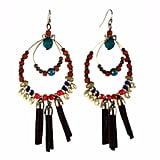 Aris by Treska Tassle Hoop Earrings ($4, originally $14)