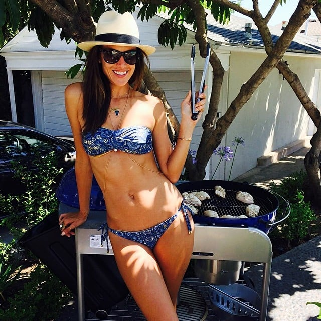 Alessandra Ambrosio flaunted her bikini body on Memorial Day. Source: Instagram user alessandraambrosio