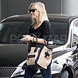 Reese Witherspoon visits Jim Toth at work.