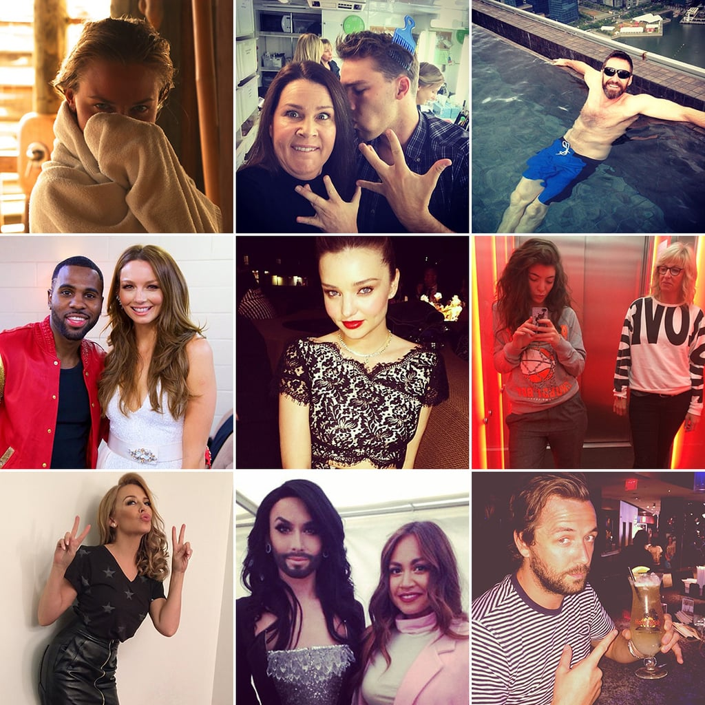 Celebrity Instagram Pictures Week May 16, 2014
