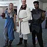 Daenerys Targaryen, Jaime Lannister, and Grey Worm