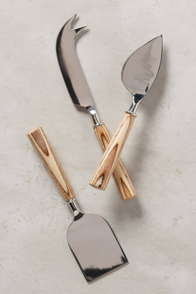 Shop it: Anthropologie Tree Rings Cheese Knives ($34)