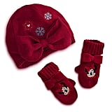 The lil Disney princess in your life will love this bow-adorned Minnie Mouse Knit Cap and Mittens Set ($12, originally $20).