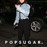 Selena Gomez Black Balenciaga Boots