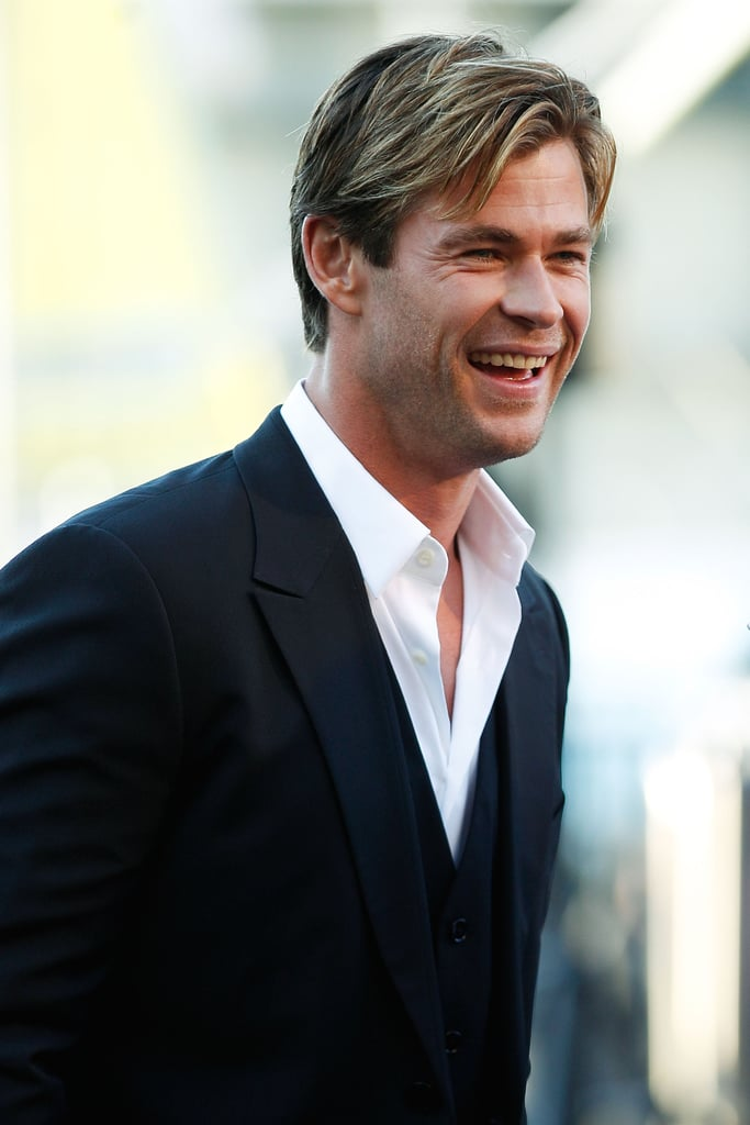 Chris Hemsworth Heart of the Sea Sydney Screening Pictures