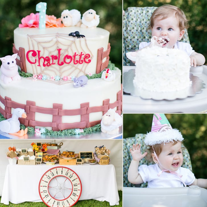 The Best Party Games For Baby S First Birthday: Charlotte's Web Themed Birthday Party