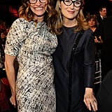Julia and Meryl donned their geek-chic frames to watch the show in 20/20.