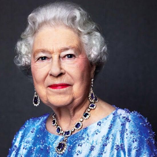 Queen Elizabeth II Sapphire Jubilee Portrait 2017