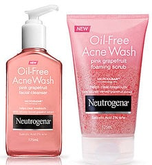 Product Reviews: Round Two Reviews of Neutrogena Oil Free Acne Wash Pink Grapefruit on BellaSugar
