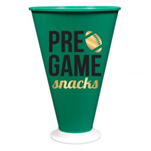 Pre-Game Snacks Megaphone Treat Holder