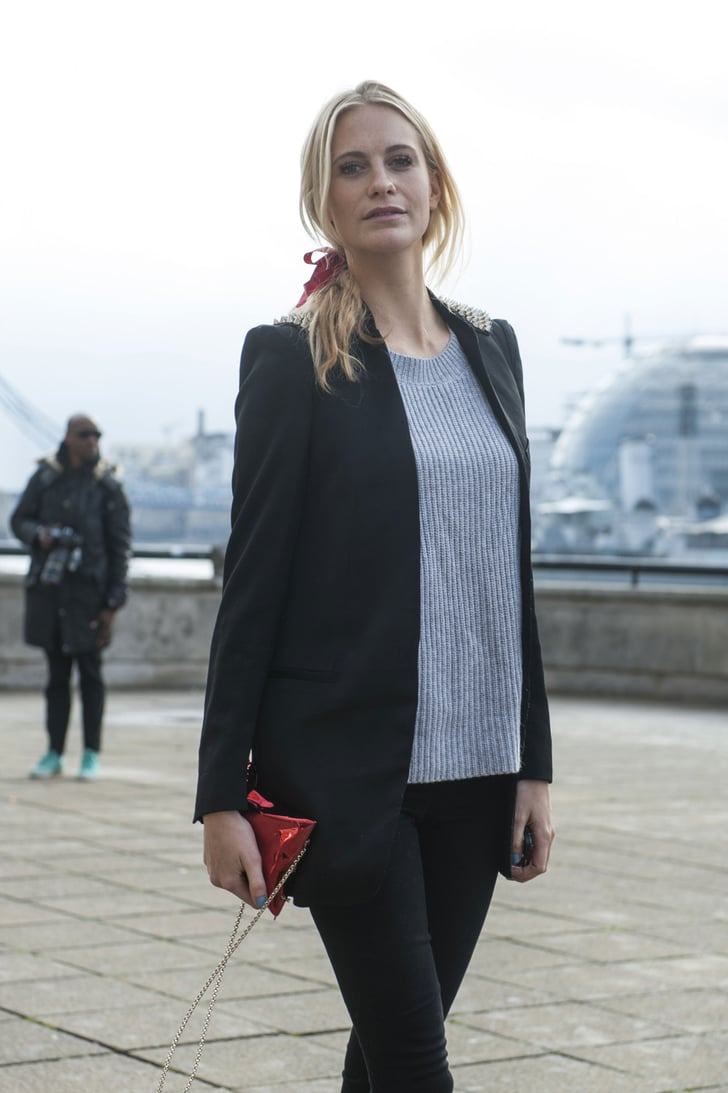 Lfw Street Style Day Five Best Street Style At London Fashion Week Fall 2014 Popsugar