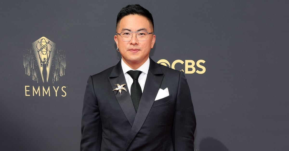 I Would Happily Let Bowen Yang Clomp All Over Me in His Metallic Emmys Platform Heels