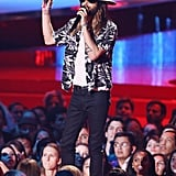 Best Music Festival Costume Design: Jared Leto