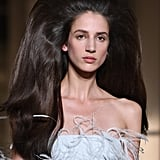 Kaia Gerber's Hair at Valentino Paris Couture Fashion Week