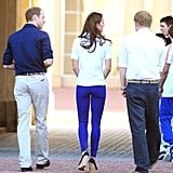 Harry, William, and Kate are all ambassadors for Team Great Britain.