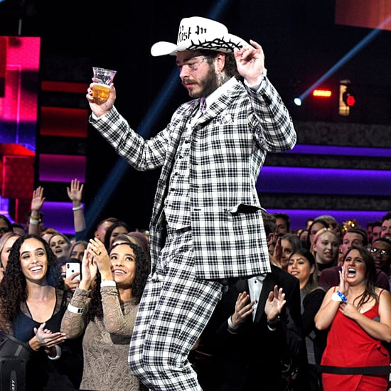 Watch Post Malone Dance to Shania Twain at the AMAs