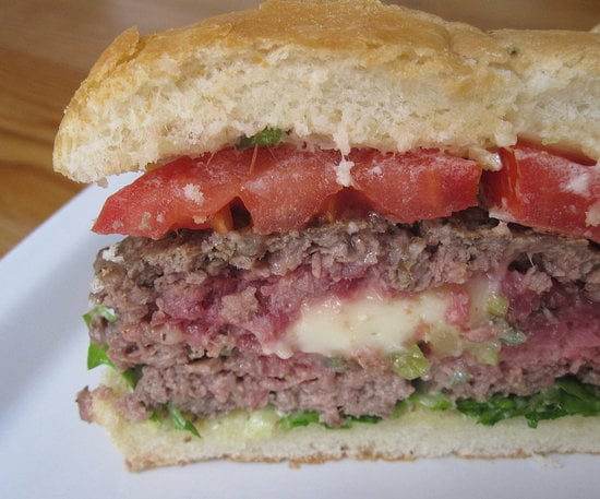 Brie-Stuffed Burger