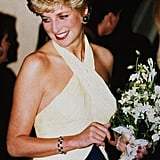 Princess Diana With a Pixie Cut in 1992