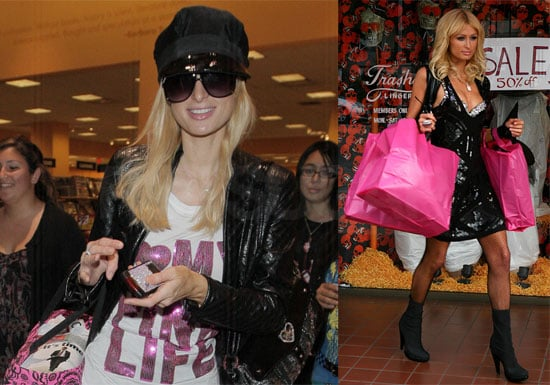 Photos of Paris Hilton in LA, Interview With Her Talking About Benji Madden, Britney Spears, and Nicole Richie