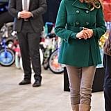 Melania Trump's Green Prada Coat