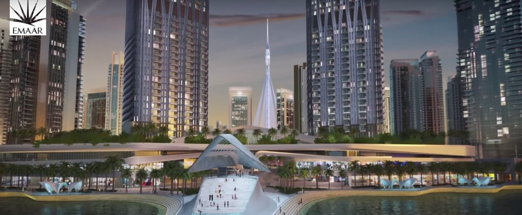 What Dubai Creek Harbour Will Look Like With The Tower