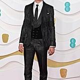 Rafferty Law at the 2020 BAFTAs in London