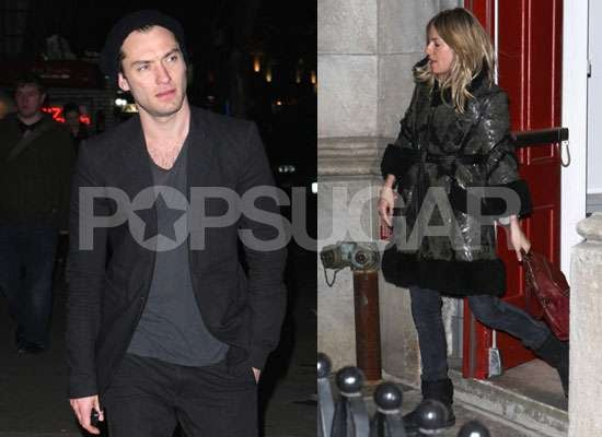 Photos of Jude Law and Sienna Miller