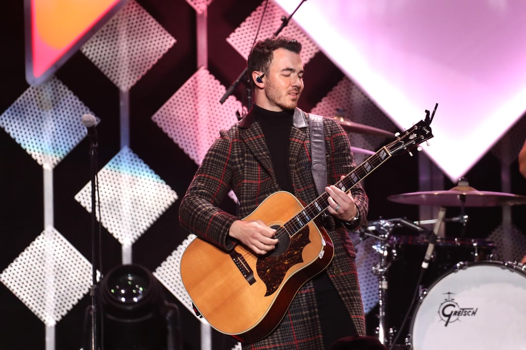 Kevin Jonas at iHeartRadio's Jingle Ball in NYC