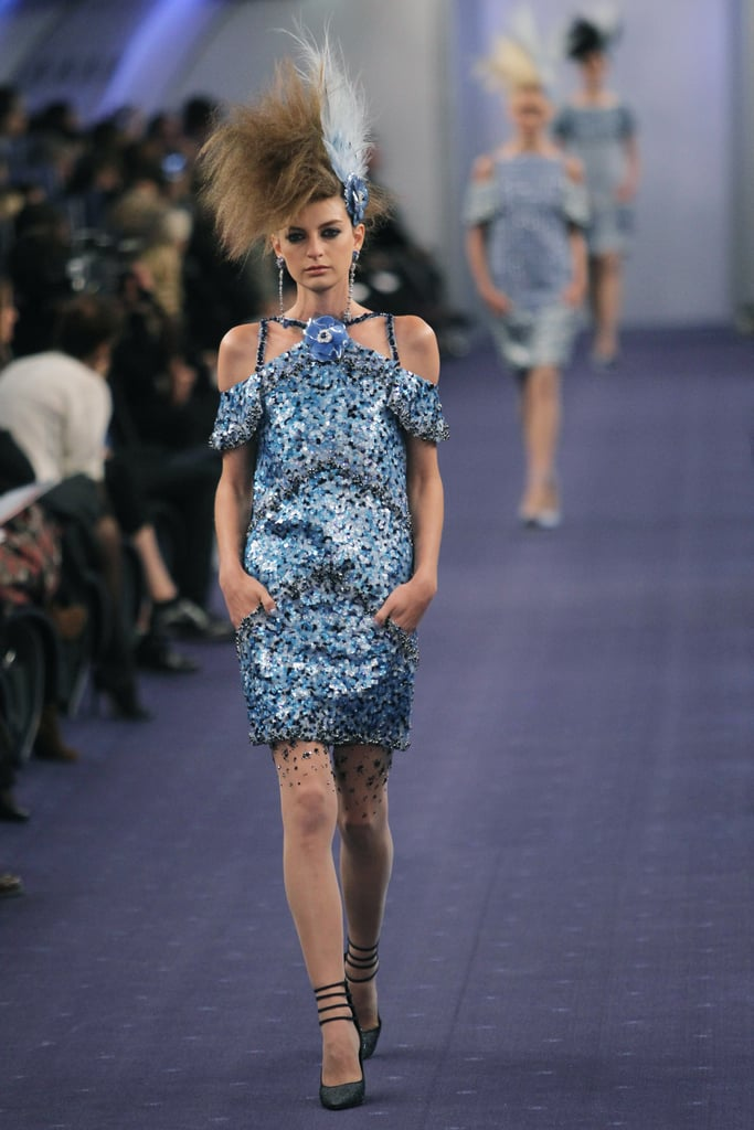 review and pictures of the chanel runway show at 2012