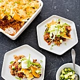 Get the recipe: beef taco bake from One-Pan Wonders