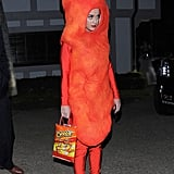 Katy Perry cracked us up with her Flamin' Hot Cheeto costume in 2014.