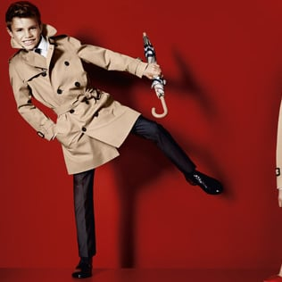 Romeo Beckham Is the Newest Face of Burberry