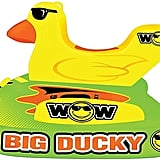 Wow World of Watersports Big Ducky  Person Inflatable Towable Deck Tube For Boating