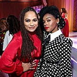 Ava DuVernay and Janelle Monáe at the 2020 Essence Black Women in Hollywood Luncheon