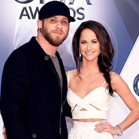 Brantley Gilbert and Amber Cochran at the CMA Awards 2015