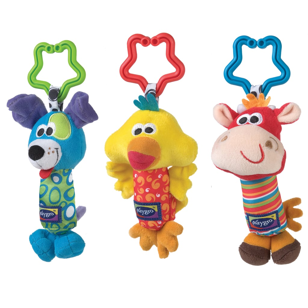 Playgro Tinkle Trio Teething and Activity Toys