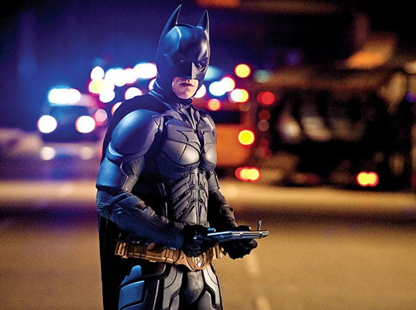 Christian Bale in The Dark Knight Rises.