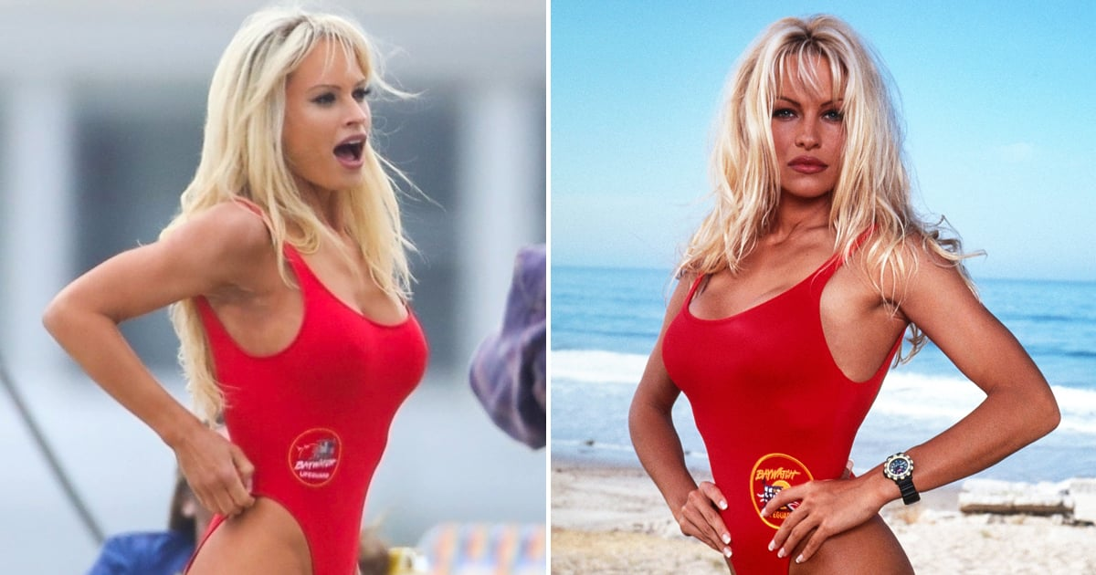 Lily James's Pamela Anderson Transformation Wouldn't Be Complete Without This Swimsuit