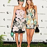 Giovanna Battaglia and Bianca Brandolini d'Adda