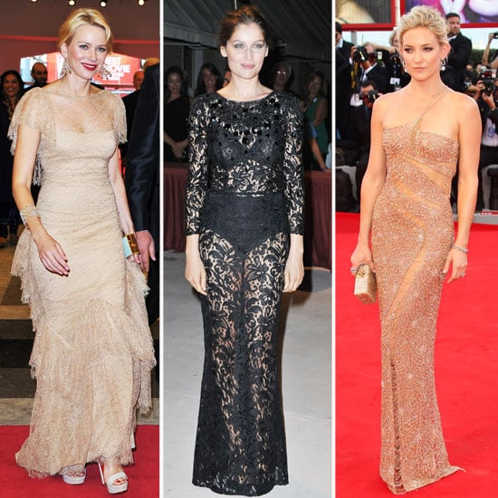 All The Best Looks From Venice Film Festival 2012, With Kate Hudson, Naomi Watts, Laetitia Casta And Kasia Sputniak