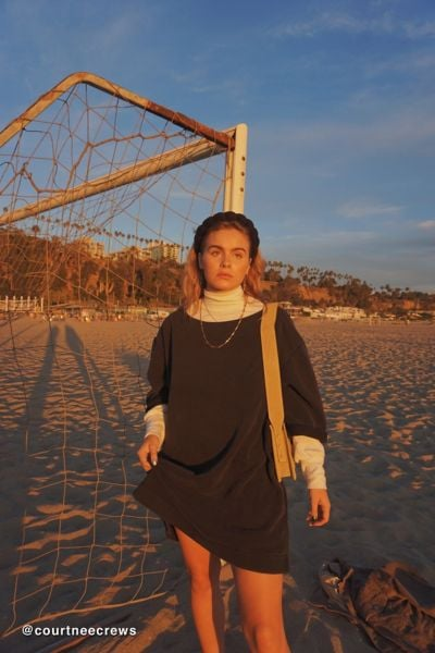 UO Torino Sweatshirt Mini Dress